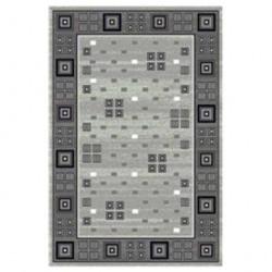 Ковер Silver 0,8*1,5м D117 серый/овал