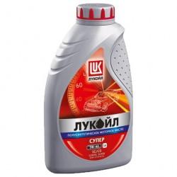 Масло моторное 5W40 1л полусинтетическое SG/CD Лукойл Супер
