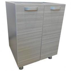 Шкаф-стол под мойку 600мм без раковины/ матрикс-189/1 (с-5717)
