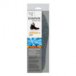Стельки для обуви Dамаv_к утепляющие войлок 195101
