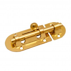 Шпингалет накладной Trodos цвет золото