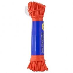 Веревка бельевая пластик 20м ЭКО R103020