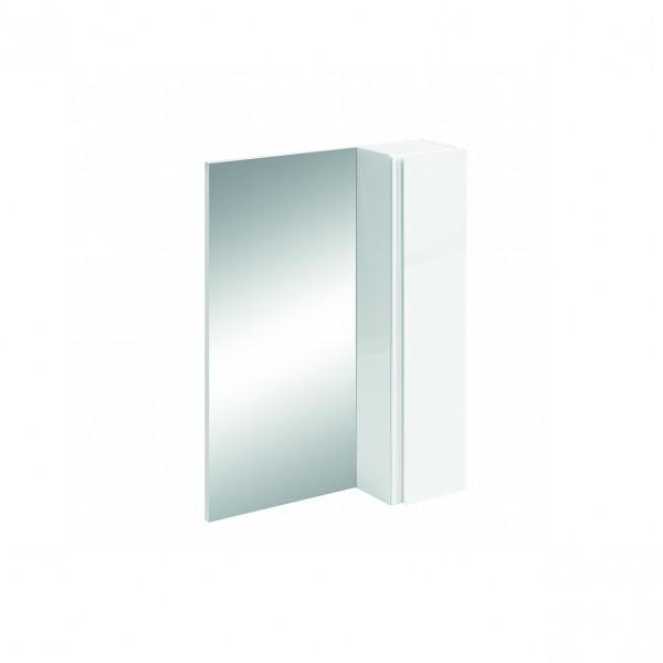 шкаф-зеркало ika тренто 60 белый