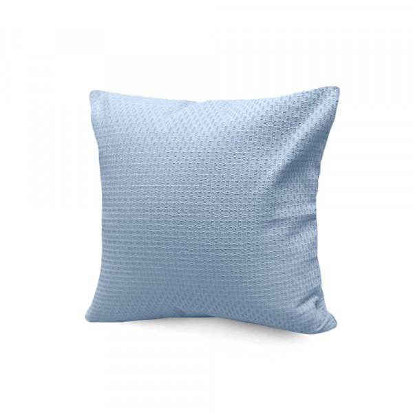 подушка декоративная s&j 40x40 хлопок 100% голубой декоративная подушка томдом подушка джойси