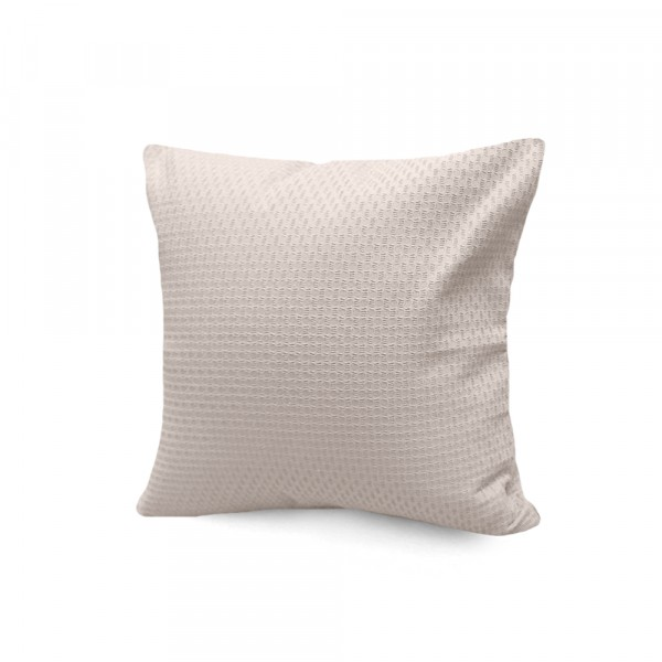 подушка декоративная s&j 40x40 хлопок 100% бежевый декоративная подушка томдом подушка джойси
