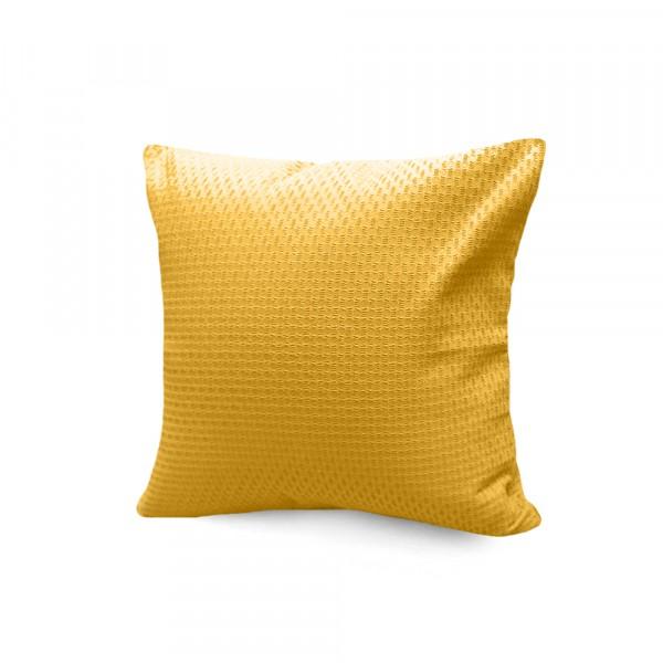 подушка декоративная s&j 40x40 хлопок 100% желтый декоративная подушка томдом подушка джойси