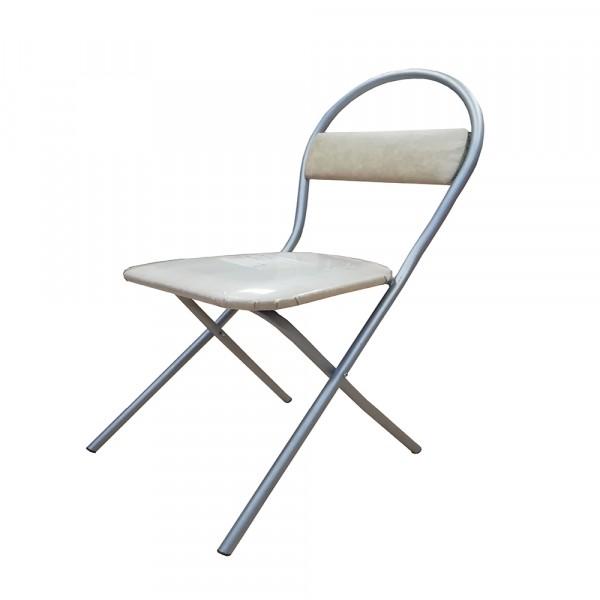 стул комфорт раскладной титан-бежевый new victoria 04341 табуреты