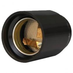 Патрон карболитовый подвесной, Е27, черный UNIVERSAL М12 4А 250В инд. упак.