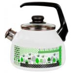Чайник 2,0л сфер. со свистком GREEN LIFE 1RА12