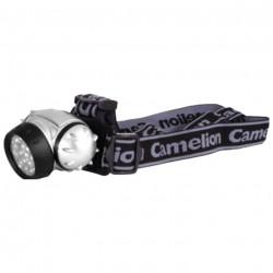 Фонарь Camelion LED 5313-19F4 19LED металлик 3xR03 НАЛОБНЫЙ