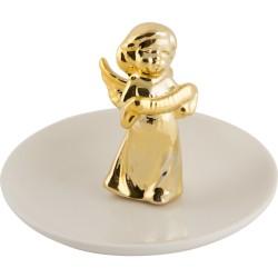 Блюдце декоративное Ангел Волшебная страна для украшений керамика 005868