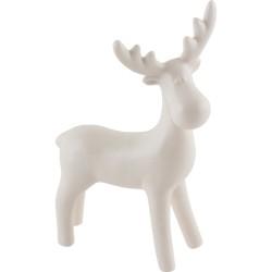 Фигурка декоративная Олень Волшебная страна белая керамика 005870