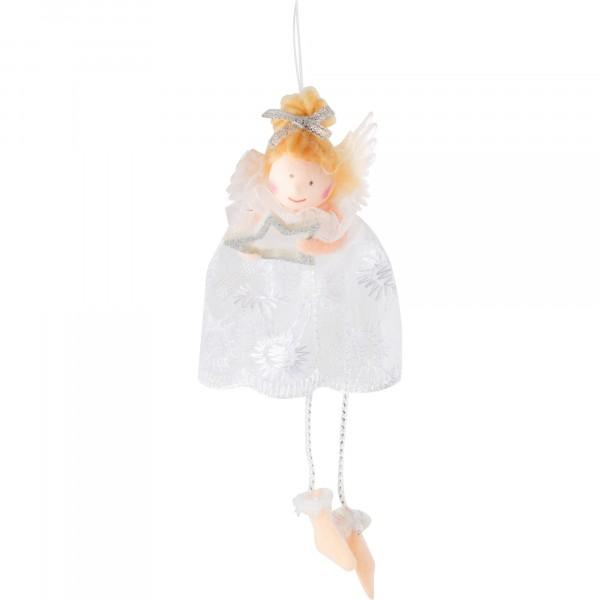 фигурка декоративная ангел волшебная страна подвесная 005822