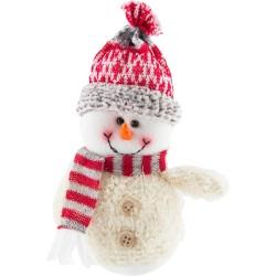 Набор украшений Снеговик Волшебная страна ткань 004357