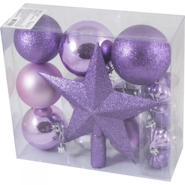 набор шары+звезда sycb17-519 волшебная страна 18шт шары:8см,7см,6см,4см;звезда 21см пластик 003374 набор шаров snowmen 32шт шар 6см х 20шт сосулька 15см х 4см мишура 270см х 2шт подарок 5 5см х 6шт