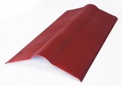 Коньковый элемент, цвет красный, 1000 х 420 мм