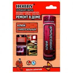 Клей Холодная сварка Hobby 55г универсальная