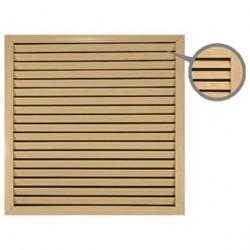 Решетка радиаторная бук светлый 0,6*0,6м