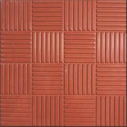 Плитка тротуарная Сетка 30*30 красная