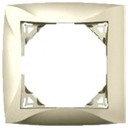 Рамка 1-ая Lexel Дуэт бежевая SE WDE000201
