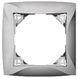 Рамка 1-ая Lexel Дуэт белая SE WDE000101