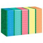 Губки для посуды РУСАЛОЧКА-МАКСИ  5шт цветные 070840/000169