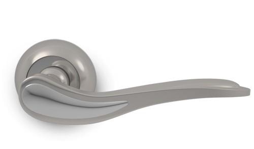 ручка дверная palladium sofia sn(матовый никель)/cp(хром) ручка дверная palladium matter mg магма