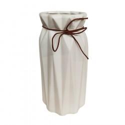 Ваза керамическая Арль 30х16х16см JG1/белый