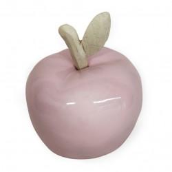 Статуэтка керамическая Яблочко 10х10х12,5см 18B001-1/розовый