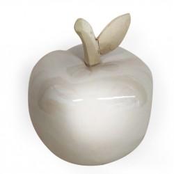Статуэтка керамическая Яблочко 10х10х12,5см 18B001-1/светлый