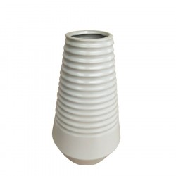 Ваза керамическая Леклож 20см, белая 8865