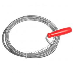 Трос для прочистки канализационных труб 9мм*5,0м /ШК/