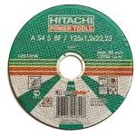 Диск отрезной по металлу 125*1,0*22 Hitachi