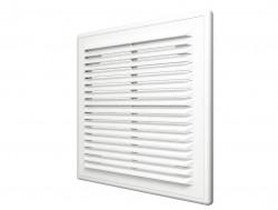 Решетка вентиляционная вытяжная АБС 208х208, белый, 2121Р
