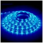 Лента светодиодная 60SMD(3528) 4.8W/m 12V IP65 синий LS604