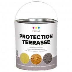 Масло Vincent Protection Terrasse деревозащитное 0,9л