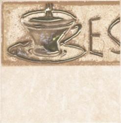 Декор Sagra Giallo Coffee 1-1 10*10