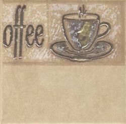 Декор Sagra Giallo Coffee 2-2 10*10