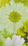 Декор Парадис 1 25*40 зеленый (зеленая ромашка) 341721