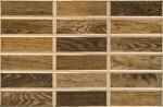 Плитка настенная Madera 35*23 темно-коричневый 233551032