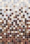 Плитка настенная Гламур 40*27,5 светло-коричневая 3С