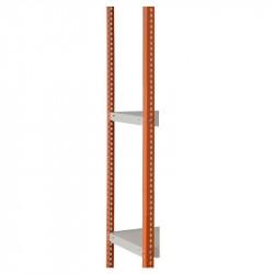 Комплект стоек УМС ПРОФИ-1000 2000 оранжевый (2 шт без крепежа)