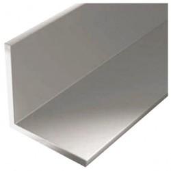 Уголок алюминиевый 25*25*1,2 2,0м серебро