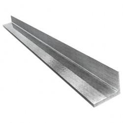 Уголок алюминиевый 20*10*1,2 2,0м серебро