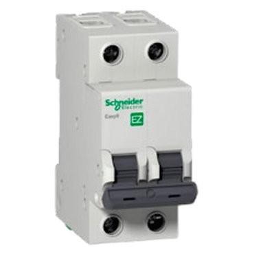 выключатель автомат. 2р 20a (c) schneider electric easy 9, se ez9f34220