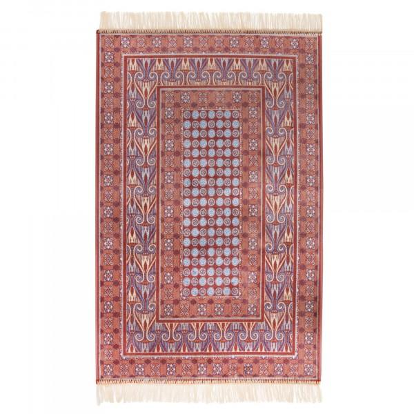Фото - ковер прямоугольный 0,7х1,1м атекс 144 rust ковер atex 117 цвет бежевый