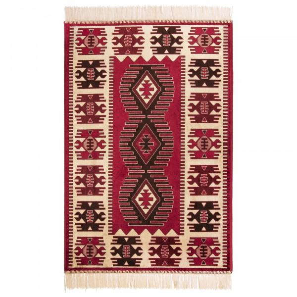 Фото - ковер прямоугольный 0,7х1,1м атекс m14 red ковер atex 117 цвет бежевый