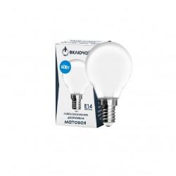 Лампа накаливания Включай 9969235 Е14 Шар 60Вт 4000К матовая