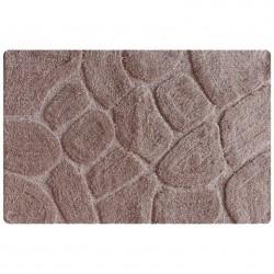 Коврик для ванной 50*80см IDDIS микрофибра, grey stones MID200M