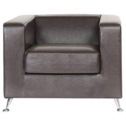 Кресло Модуле 1 (к/з Рекс 320 коричневый) /0,89*0,85*0,67/